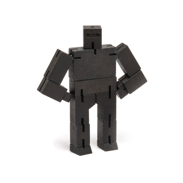 Cubebot  Ninja - 2 Sizes, 2 Colours Play Small / Black Areaware