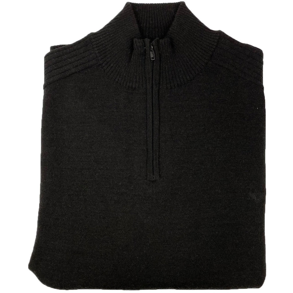 Parker Merino Jersey - Black Mens Knits + Sweats L,XL,2XL R.F. Scott