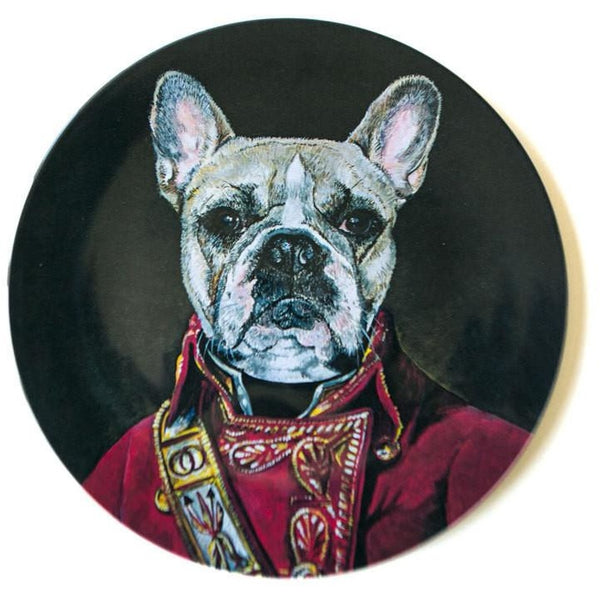 Remington the Dog Melamine Plate