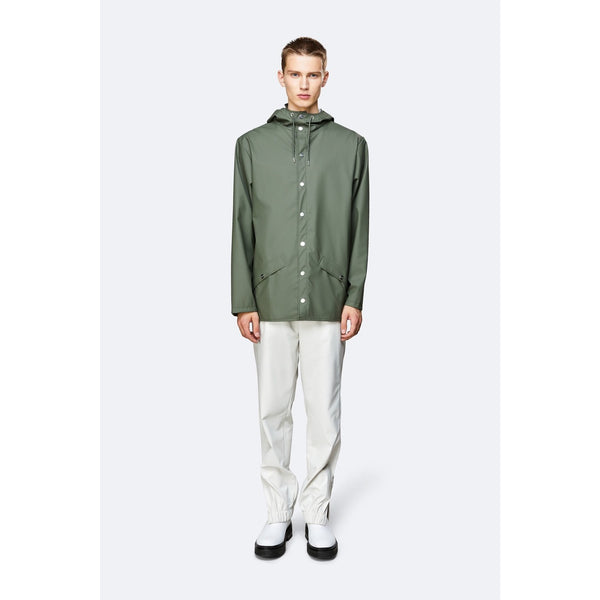 Rains Jacket - Olive Womens Clothing XXS/XS,XS/S,S/M,M/L,L/XL Rains