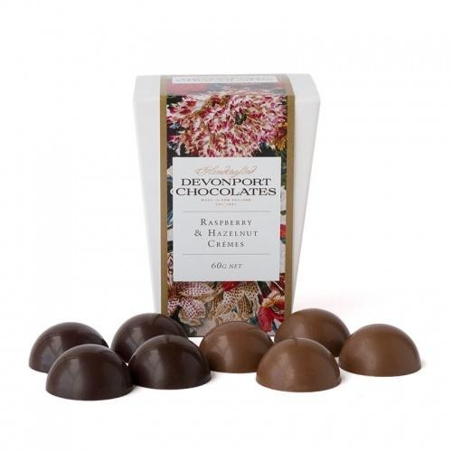 Devonport Vintage Floral Collection Raspberry & Hazelnut Cremes
