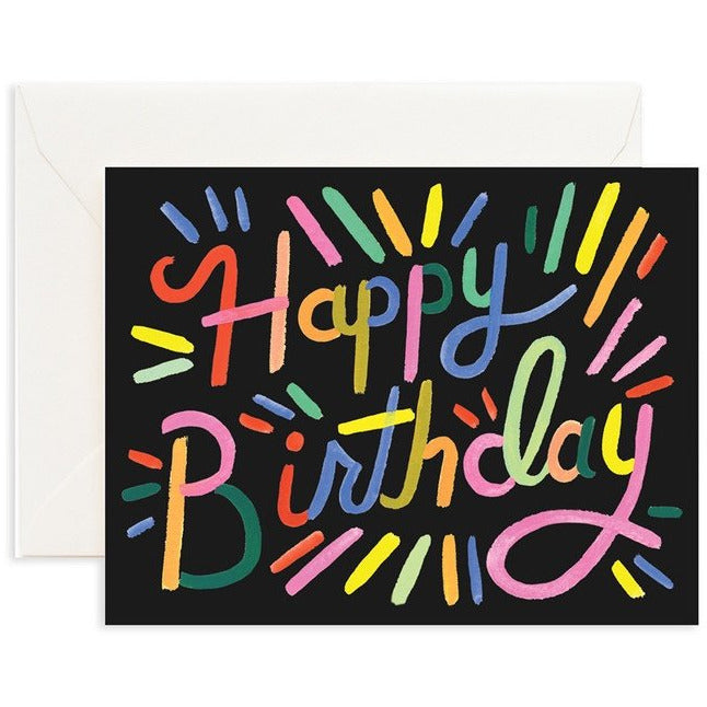 Rifle Paper Cards, Rifle Paper NZ Retailer, Reseller, General Birthday Card