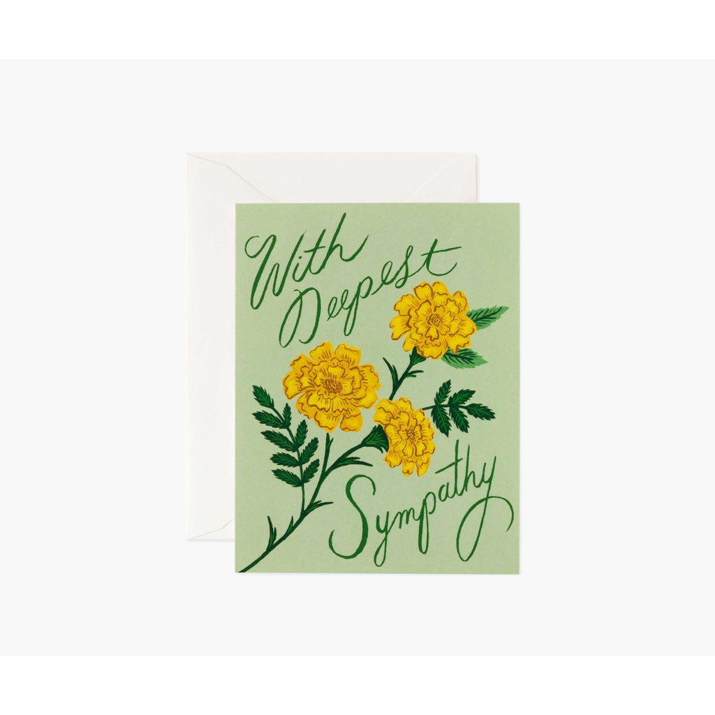 Marigold Sympathy Cards Default Title Rifle Paper