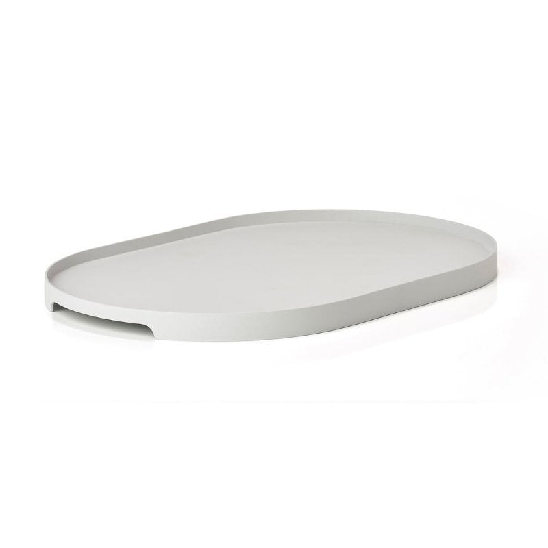 Singles Oval Tray - Grey Serveware Default Title Zone Denmark