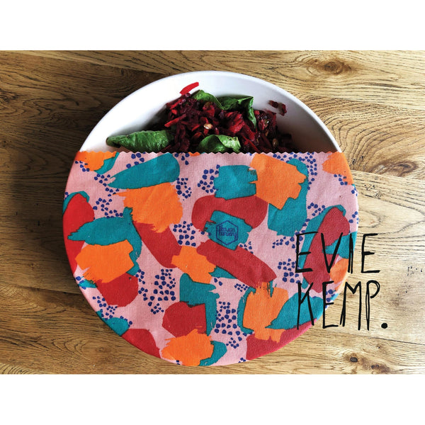 Evie Kemp Limited Edition Honeywrap a plastic alternative