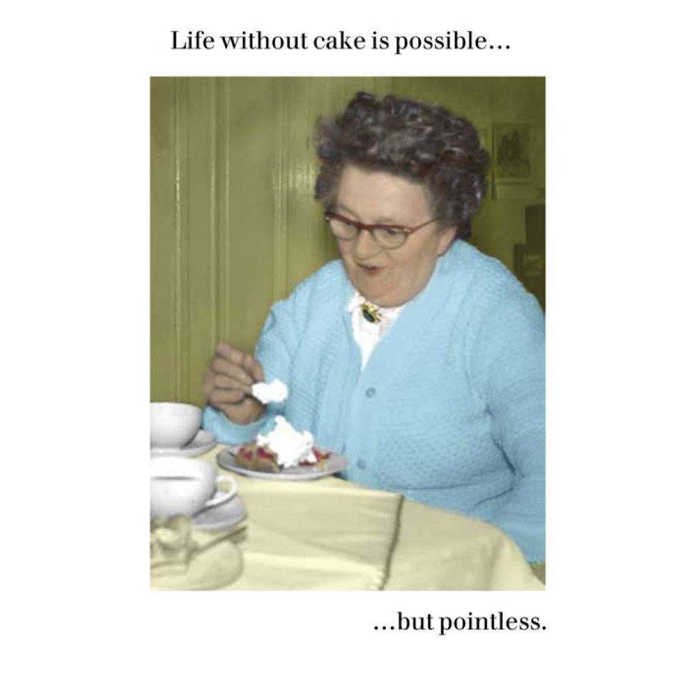 Life Without Cake Cards Default Title Cath Tate
