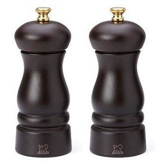 Clermont Salt & Pepper Mill Set  - 2 Finishes Tableware Dark Peugeot