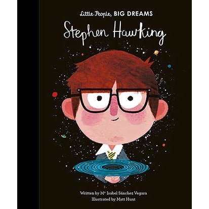 Stephen Hawking, Little People, Big Dreams, Isabel Sanchez Vegara, ISBN 9781786037329