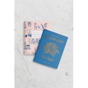 Passport Pack of 2 Notebooks