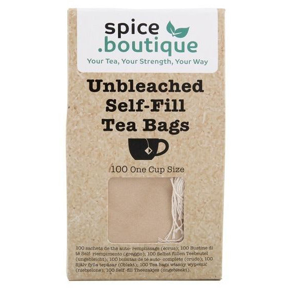 Unbleached Self Fill Teabags