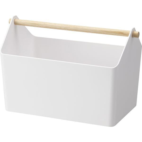 Yamazaki Tosca Storage Box White, Father Rabbit Yamazaki Tosca Storage Box, Tosca Storage Box, Storage Box, Toy Storage Box, Cleaning Storage Box