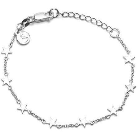 Stolen Star Bracelet - Silver Bracelets + Bangles Default Title Stolen Girlfriends Club