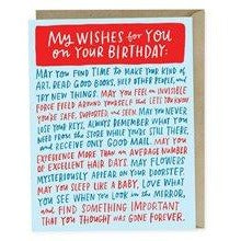 My Wishes For You On Your Birthday Cards Default Title Emily McDowell