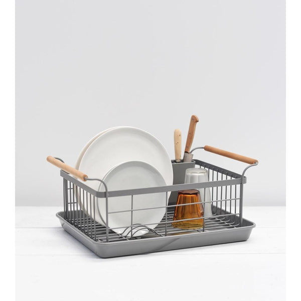 Tosca Dish Drainer - Grey Cleaning + Brushware Default Title Yamazaki