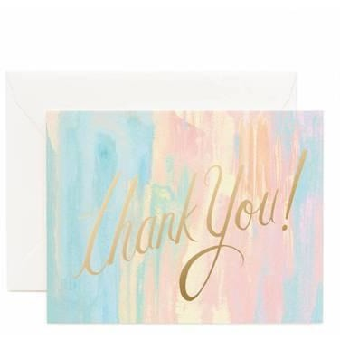Watercolour Thank You Cards Default Title Rifle Paper