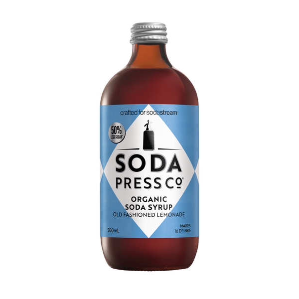 Organic Old Fashioned Lemonade Soda + Mixing Syrup Larder Default Title Soda Press