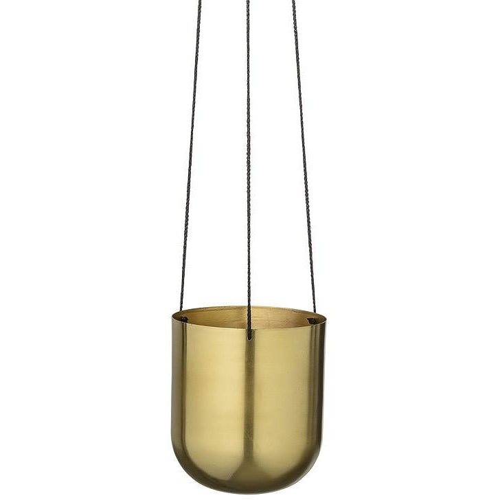 Emilie Hanging Brass Pot