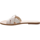 Anacapri Leather Flat Slide White
