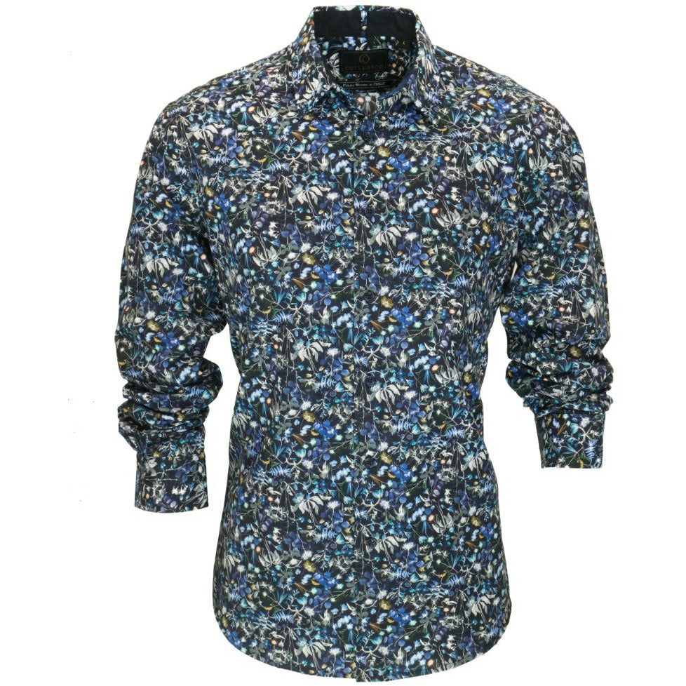 Nigel Shirt - Nightshade Mens Clothing M,L,XL,2XL Cutler & Co