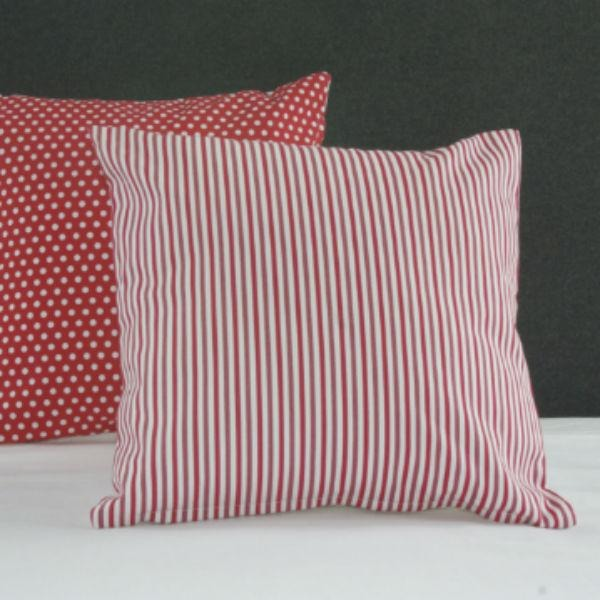 Candy Stripe Cushion Cover, Cotton Cushion, NZ Made linen