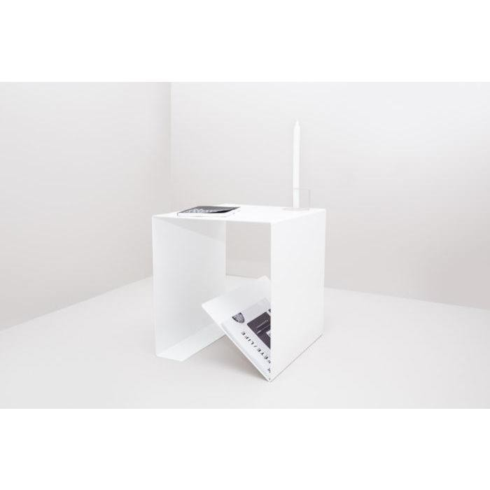 Made of Tomorrow White Fold Side Table