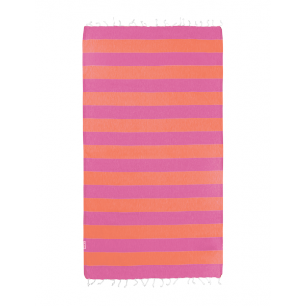 Hammamas Turkish Towel Bold Candy/Orange