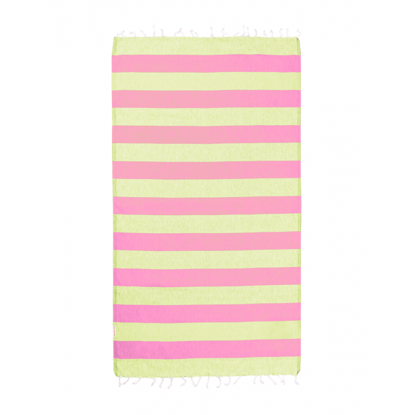 Hammamas Turkish Towel Bold Watermelon/Lime