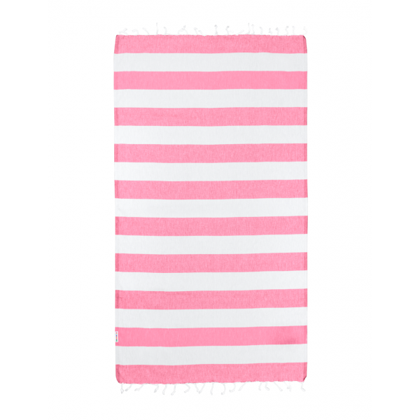 Hammamas Turkish Towel Bold Watermelon/White