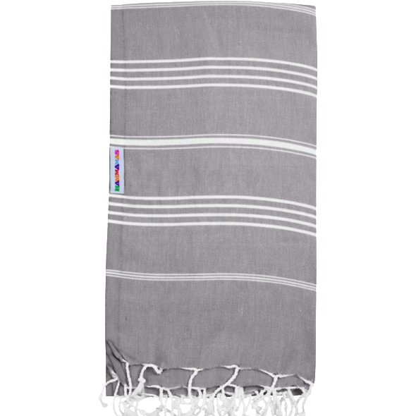 Hammamas Turkish Towel Original Ash