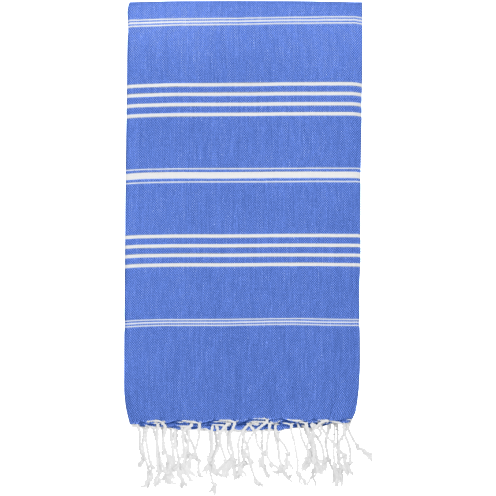 Hammamas 100% Cotton Turkish Towel Original Azure