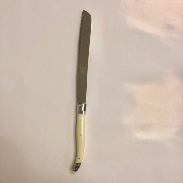 Laguiole French Ivory Bread Knife