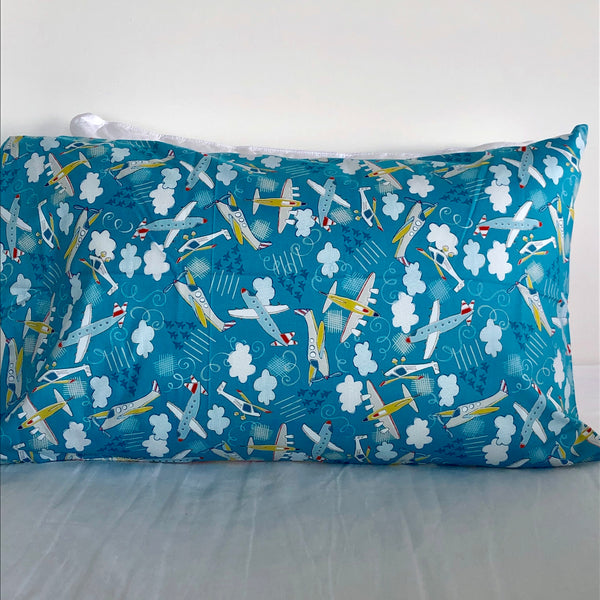 Aeroplane Cotton Pillowcase