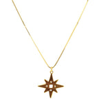 Lindi Kingi, Lindi Kingi Stockist, Lindi Kingi Single Star Necklace Gold