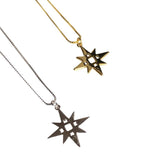 Lindi Kingi, Lindi Kingi Stockist, Lindi Kingi Single Star Necklace Gold or Sliver