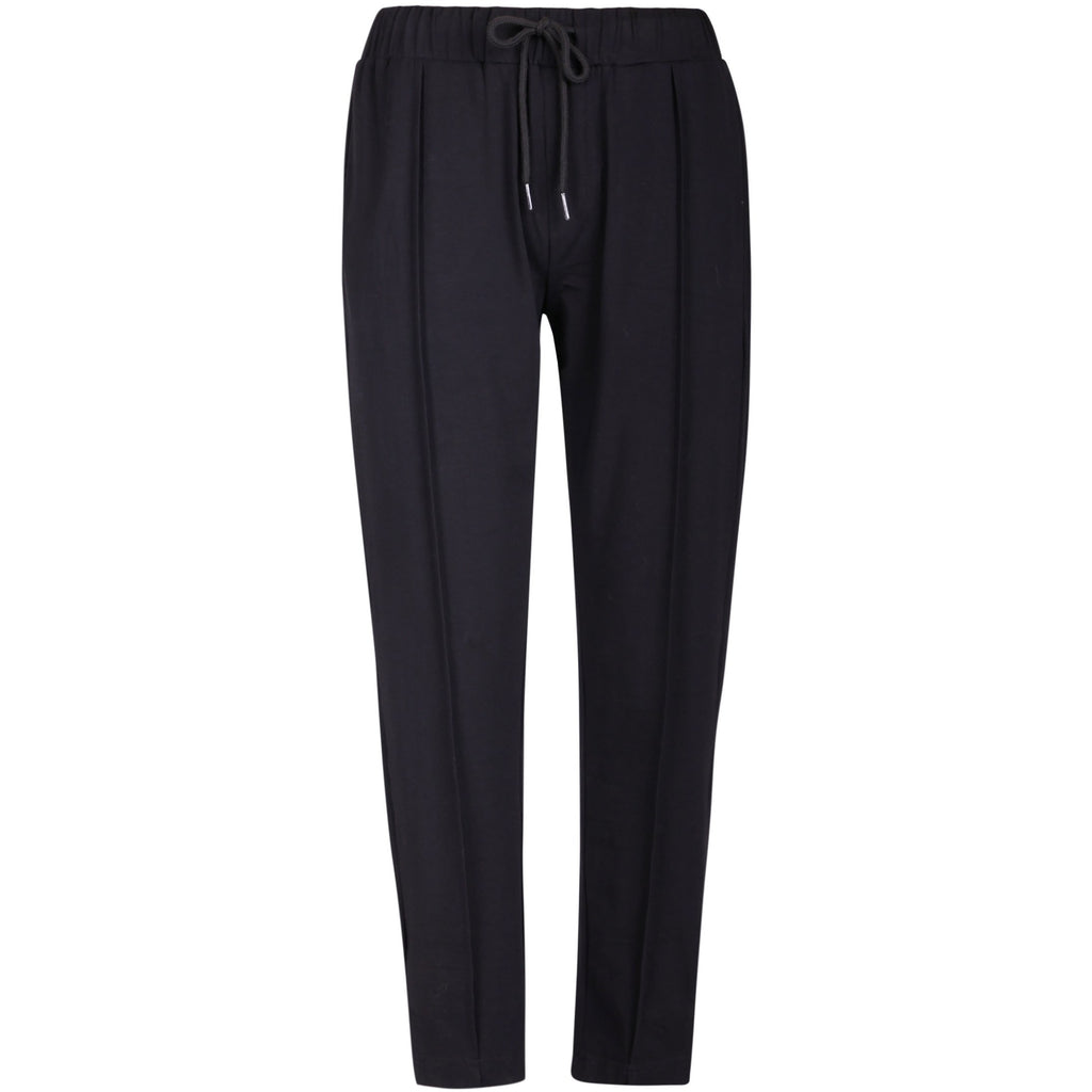Pintuck Sav Pant - 2 Colours Womens Clothing 8 / Black,10 / Black,12 / Black,14 / Black Ketz-Ke