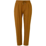 Pintuck Sav Pant - 2 Colours Womens Clothing 8 / Tan,10 / Tan,12 / Tan,14 / Tan Ketz-Ke