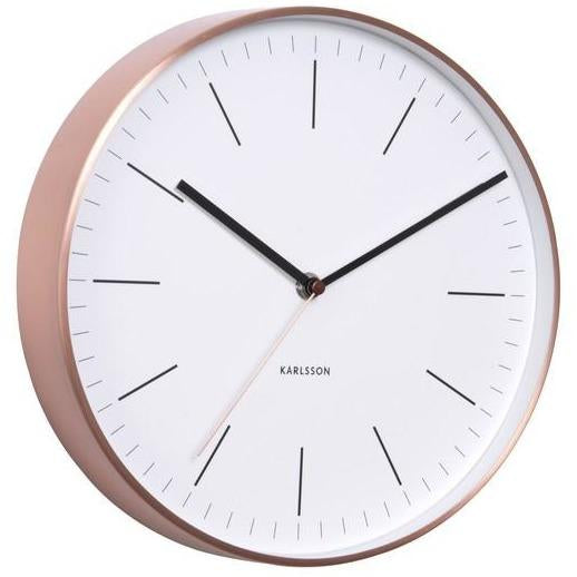 "Karlsson Wall Clock ""Minimal White"""