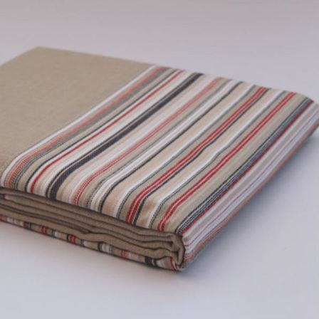 Hunter Stripe Duvet Cover Set, NZ made bed linen, NZ made duvet cover set