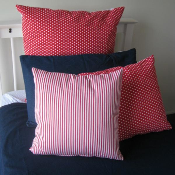 Red Spot Euro Pillowcase