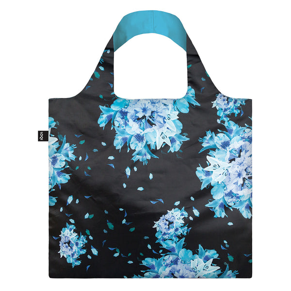 Loqi Shinpei Naito Reusable Shopping Bag Flower Bomb, Reusable Shopping Bag