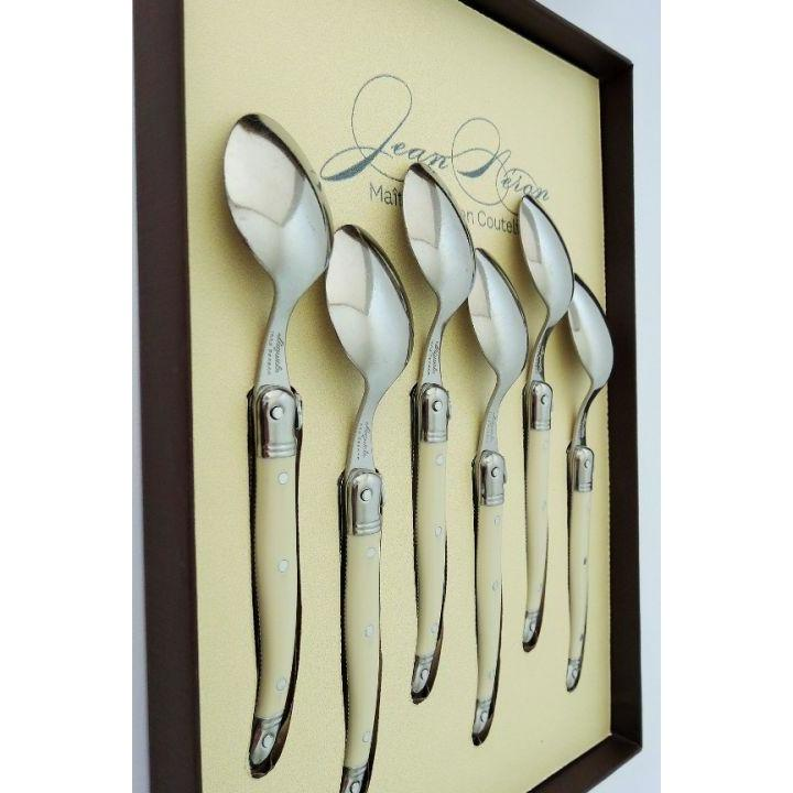 Laguiole Ivory Coffee Spoons