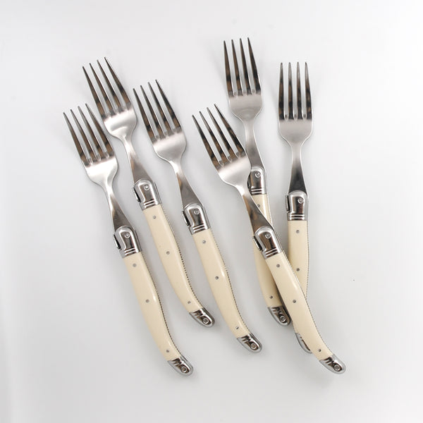 French Laguiole Ivory Table Forks