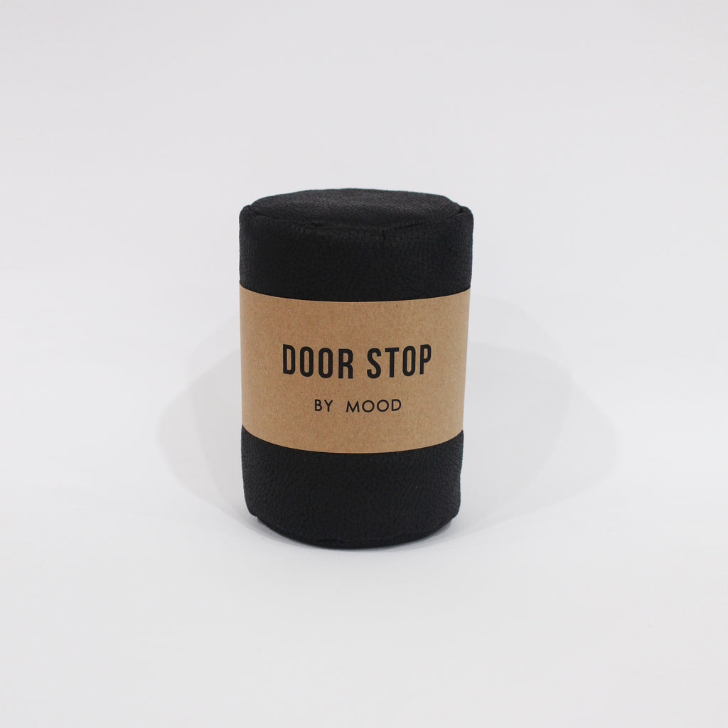 Mood - NZ Door Stop Faux Leather filled with sand, Faux Leather Doorstop