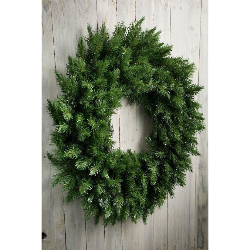 Flower Systems Liberty Wreaths, Green Christmas Wreaths, Christmas Wreath for Decorating