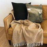 Katrina Hobbs Deep In The Woods Linen Cushion Cover