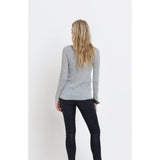 Elk Merino Long Sleeve Top Grey