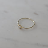 Mini Pearl Ring - 2 Colours Rings Gold / S,Gold / M,Gold / L S O P H IE