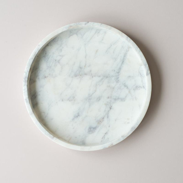 Nel Lusso Round Marble Tray, 20cm Round Marble Tray