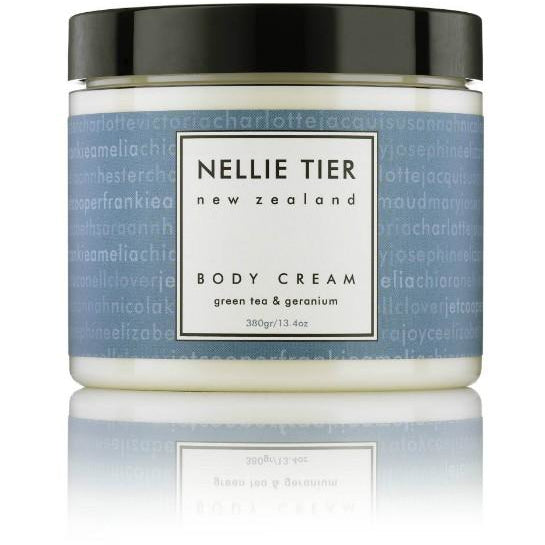 Nellie Tier Body Cream Botanical Extracts Essential Oils NZ Made