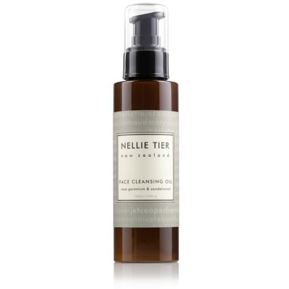 Nellie Tier Face Cleansing Oil, NZ Made Skincare, Natural Skincare